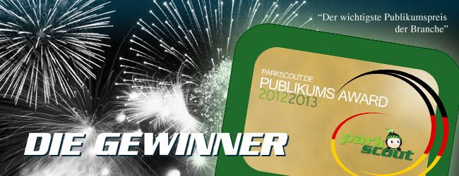 Parkscout PublikumS Award 2012/2013