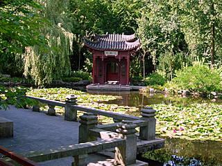 Japanischer Garten im Hortus Haren. © ruurdz